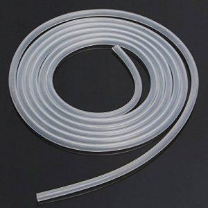 takestop Tuyau Transparent Blanc acrylique 8mm x 5mt Tuyau Câble flexible pour aereatori Air Eau Aquarium étang pompe filtre liquides de la marque takestop image 0 produit