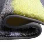 Tapis de bain antidérapant et anti-moisissure Pauwer - Lavable en machine, Microfibre, jaune, 45x120cm de la marque Pauwer image 2 produit