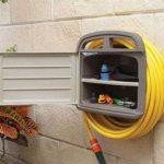 Tec Hit 390245 Support mural pour tuyau d'arrosage avec Armoire Rangement pour tube de 45 m de la marque Tec Hit image 1 produit