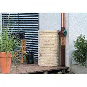 Technik Arcado Collecteur d'eau 230L Grès pilier en pierre style Citerne Réservoir–Jardin d'irrigation–Pluie de la marque Garden Magic image 0 produit