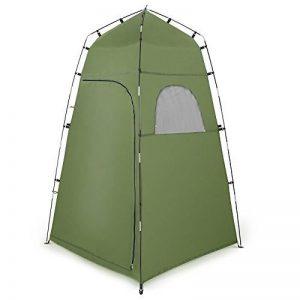 Tente de Douche Camping Terra Hiker, Cabine de Toilette WC Extérieure Abri de Plein Air Avec Fenêtres Pour Camping Randonnée Plage Séance Photo de la marque Terra Hiker image 0 produit