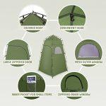 Tente de Douche Camping Terra Hiker, Cabine de Toilette WC Extérieure Abri de Plein Air Avec Fenêtres Pour Camping Randonnée Plage Séance Photo de la marque Terra Hiker image 1 produit