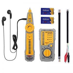 Testeur de Câbles RJ45 RJ11 Tacklife CT01 Détecteur de Câbles pour Câble Réseau Test de Ligne Téléphonique Contrôle de Continuité Indicateur de Batterie Faible avec Lumières LED de la marque Tacklife image 0 produit