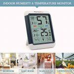 ThermoPro TP-55 Thermomètre Hygromètre Numérique, Rétroéclairage Bleu, Grand Écran LCD Tactile, Détecteur de Température/ Humidité Sans Fil de la marque ThermoPro image 2 produit