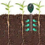 Tifanti 3en 1testeur de sol Mètre d'humidité, lumière et testeur de pH acidité, Plante kit de testeur de sol pour jardin Ferme pelouse etc. de la marque TIFANTI image 1 produit