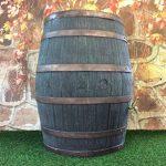 Tonneau récupérateur d'eau de pluie / 238 capacite d'un litre / Grand baril d'effet d'Oakwood avec le robinet en laiton de la marque Victorian Garden & Lighting Company image 2 produit