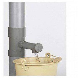 TopBoutic Récupérateur eau de pluie 100 mm - Gris de la marque TopBoutic image 0 produit