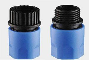 Topways Bleu tuyau de jardin extensible mâle/femelle Adaptateur pour robinet et en flacon vaporisateur de la marque Topways image 0 produit