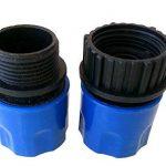 Topways Bleu tuyau de jardin extensible mâle/femelle Adaptateur pour robinet et en flacon vaporisateur de la marque Topways image 1 produit