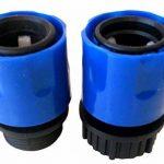 Topways Bleu tuyau de jardin extensible mâle/femelle Adaptateur pour robinet et en flacon vaporisateur de la marque Topways image 2 produit