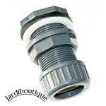 Traversée de paroi pvc + écrou de serrage Diamètre 32 mm montage du tuyau rapide - idéal pour aquaponie - jardiboutique de la marque SAS MV image 4 produit