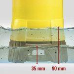 TROTEC Pompe de relevage pour eaux chargées / Pompe à eau Submersible TWP 4025 E (400 W, 7.500 l/h, jusqu'à une profondeur de 5 m, taille des impuretés 25 mm) de la marque Trotec image 4 produit