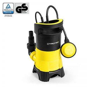 TROTEC Pompe de relevage pour eaux chargées / Pompe à eau Submersible TWP 4025 E (400 W, 7.500 l/h, jusqu'à une profondeur de 5 m, taille des impuretés 25 mm) de la marque Trotec image 0 produit