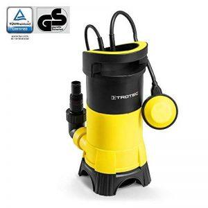 TROTEC Pompe de relevage pour eaux chargées / Pompe à eau Submersible TWP 7025 E (750 W, 13.000 l/h, jusqu'à une profondeur de 9 m, taille des impuretés 25 mm) de la marque Trotec image 0 produit