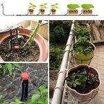 Tête de gicleurs d'irrigation, Shineus Plastique réglable Micro Drip irrigation Kits arroseurs Système émetteur pour jardin Lot de 100 de la marque Shineus image 2 produit