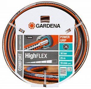 """Tuyau d'arrosage Comfort HighFLEX de GARDENA 19mm (3/4""""), 25 m: tuyau à profil Power-Grip, résistance à l'éclatement de 30 bars (18083-20) de la marque Gardena image 0 produit"""