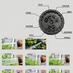 Tuyau d'arrosage Extensible15m,Jardin tuyau arrosage rétractable 50ft +8 Fonction Pistolet Inclus, Matériel TPS+ Spandex plus résistant aux intempéries, Connecteur en laiton massif de la marque Sonyabecca image 5 produit