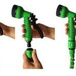 Tuyau d'arrosage - vert 25ft à 100ft - avec pistolet de pulvérisation à 7 fonctions Élargissement jardin arrosage multifonctionnel à haute pression lave-auto pistolet à eau jardin arrosage (25FT, Vert) de la marque UFLYAY image 4 produit