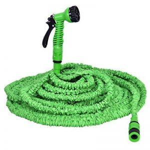 Tuyau d'eau de tuyau d'arrosage flexible extensible tuyau flexible pantalon magique 7,5-60M (60m) de la marque Blitzzauber24 image 0 produit