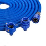 Tuyau flexible d'arrosage tuyau d'arrosage bleu Tuyau magique extensible tuyau magique (15m) de la marque Home&Decorations image 1 produit