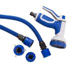 Tuyau flexible d'arrosage tuyau d'arrosage bleu Tuyau magique extensible tuyau magique (15m) de la marque Home&Decorations image 3 produit