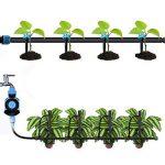 UCLEVER Goutteurs d'irrigation avec Connecteur pour Tube de 4mm/7mm, Réglables 360 ° émetteur Micro Arroseurs Goutte Système Jardin des Plantes de Tuyau d'irrigation Brumisation, Paquet de 50 de la marque UCLEVER image 3 produit