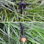 UClever Piquets de support de tuyau d'irrigation Support Piquet de Tube Irrigation Goutte à Goutte Plastique Outil de Jardinage,paquet de 100 de la marque image 3 produit