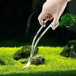 UEETEK Ciseaux d'aquarium avec la Tête Courbée pour Plantes Aquatiques 24cm de la marque UEETEK image 2 produit
