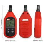 UNI-T UT333 Mini LCD Thermomètre Numérique Hygromètres Air Température et Humidité Mètres Humidimètre Capteur Avec affichage Max Min Value (Noir et Rouge) de la marque JalonC image 2 produit