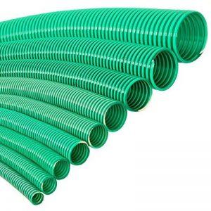 VALEKNA Flextube G Ø 100mm (4pouces) Mètre PVC tuyau spirale tuyau d'aspiration et tuyau pression pour légère applications de la marque VALEKNA image 0 produit