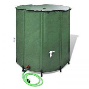 vidaXL Récupérateur d'eau pluviale Réserve d'eau pluie Réservoir Eau pliable Cuve 750 L de la marque vidaXL image 0 produit