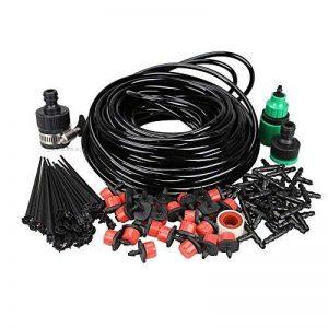 Vktech 20m DIY Micro Drip Système d'arrosage pour plantes d'arrosage automatique tuyau d'arrosage Kits de la marque Vktech image 0 produit