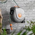 VonHaus Tuyau d'Arrosage de Jardin 20M – Rouleau Mural à Enroulement Automatique de la marque VonHaus image 2 produit