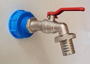 VOXTRADE 'IBC Adaptateur avec 3/4robinet pour citerne Réservoir IBC 1000litres d'eau robinet de la marque VOXTRADE image 0 produit