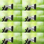 Waldbeck Steelflow 25 • Tuyau d'arrosage • Tuyau flexible • Acier inoxydable • Douchette manuelle • 8 fonctions de pulvérisation différentes • Raccord rapide • Longueur: 7,5 m de la marque Waldbeck image 2 produit