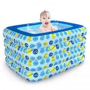 WEBO HOME- Bain gonflable épaissi Enfants adultes Pliage de bain Clip de coton isolant antigel Les bébés et les jeunes enfants de la marque Baignoire gonflable image 0 produit