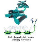 Wildlead automatique rotatif à 360° arroseurs réglable Système d'irrigation pour l'agriculture de jardin pelouse de la marque Wildlead image 4 produit