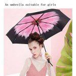 WILLIAM & KATE Parapluie UV ultra-léger et parapluie anti-pluie Tout ombrage Parapluie anti-UV avancé à trois plis Parapluie créatif Simplicité de la marque WILLIAM&KATE image 4 produit