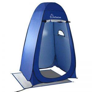 WolfWise Tente de Douche Toilette Cabinet de Changement Camping Abri de Plein Air Vestiaire Amovible Extérieure Intérieure de la marque WolfWise image 0 produit