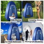 WolfWise Tente de Douche Toilette Cabinet de Changement Camping Abri de Plein Air Vestiaire Amovible Extérieure Intérieure de la marque WolfWise image 1 produit