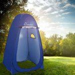 WolfWise Tente de Douche Toilette Cabinet de Changement Camping Abri de Plein Air Vestiaire Amovible Extérieure Intérieure de la marque WolfWise image 2 produit
