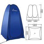 WolfWise Tente de Douche Toilette Cabinet de Changement Camping Abri de Plein Air Vestiaire Amovible Extérieure Intérieure de la marque WolfWise image 4 produit
