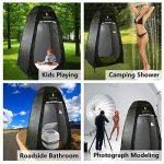 WolfWise Tente Instantanée de Douche Toilette Portable Camping Abri de Plein Air Vestiaire Amovible Extérieure Intérieure de la marque WolfWise image 1 produit