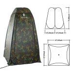 WolfWise Tente Instantanée de Douche Toilette Portable Camping Abri de Plein Air Vestiaire Amovible Extérieure Intérieure de la marque WolfWise image 4 produit