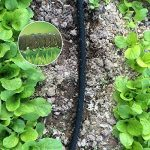 Yahee Tuyau d'Arrosage Extensible de Jardin Tuyau Micro-poreux Flexible Irrigation Goutte à Goutte Diamètre Intérieur 1.2cm Tuyau d'Infiltration PE (30M) de la marque Yaheetech image 2 produit