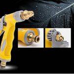Yida Pistolet à mousse pour voiture avec gant de lavage double face 2en 1Buse de pulvérisation manuelle Canon à mousse Pulvérisateur Buse de nettoyage pour tuyau d'arrosage de la marque Yi Da image 2 produit