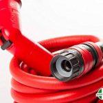 YOYO by FITT - Le tuyau pour le jardin, rouge, léger et robuste. Fourni avec pistolet, connecteurs et raccord rapide avec système de sécurité Aquastop, s'allonge de 4 à 8 mètres. de la marque FITT image 4 produit