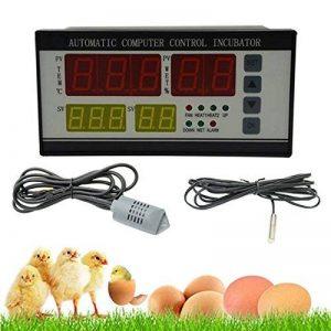ZREAL XM-18 Incubateur automatique Incubateur d'oeufs multifonctions Système de contrôle Capteur de température et d'humidité automatique pour vente chaude de la marque ZREAL image 0 produit